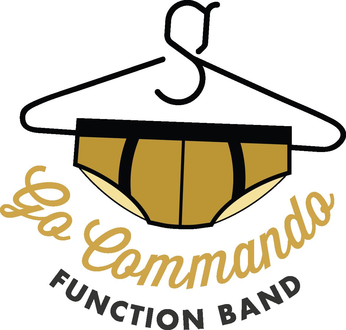 Go Commando Logo Transparent